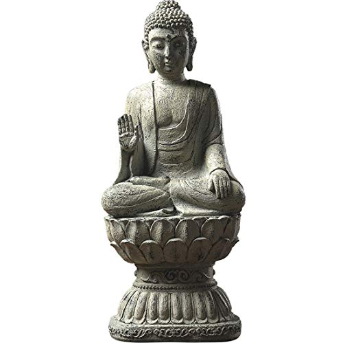 Zen World Buddha Statue, 15.5' Buddha for Buddha Decor Zen Decor Meditation Decor
