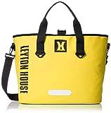 [レイトンハウス] SPLASH/スプラッシュ 防水トートバッグ ショルダーバッグ プール マリン バック 防水 鞄 TOTE 【35L】 イエロー