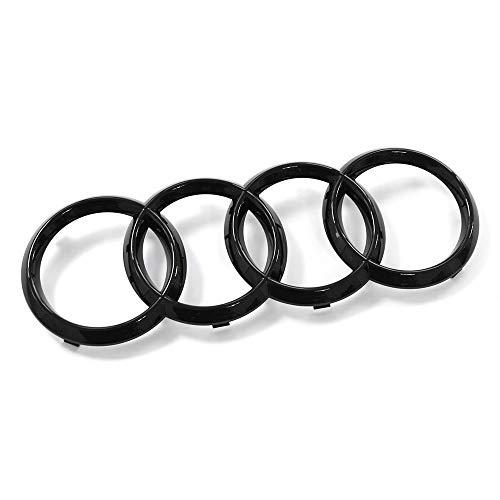 Audi 4M0071801 Ringe Zeichen Kühlergrill Black Edition Emblem Blackline Logo schwarz