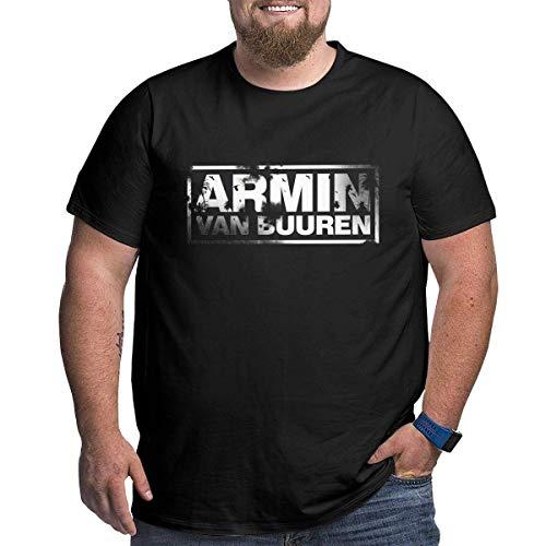 Armin Van Buuren Logo Shirt Men Plus Size Cotton T Shirt High Waist and Large Waist Shirt