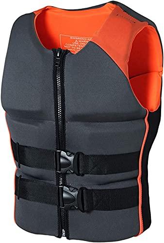 縦断勾配 Chaleco Salvavidas para Adultos Chaleco Salvavidas para Adultos de Surf a la Deriva, flotabilidad, Chaleco Salvavidas, Ropa Flotante, Chaleco Salvavidas(Color:Orange;Size:Medium)