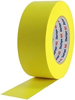 Panastore Paris - Rotolo adesivo di carta americana, 50 mm x 50 m, colore: Giallo