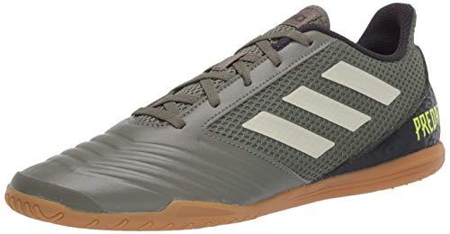 adidas Zapatos de fútbol Predator Sala de 19.4 pulgadas para hombre, verde (Verde Legado/Arena/Amarillo Solar), 44.5 EU