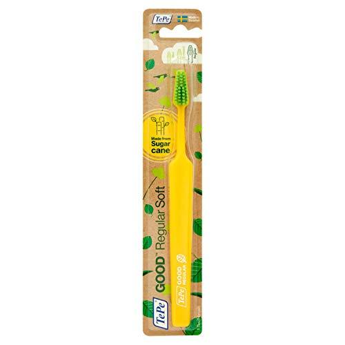 TEPE GOOD Regular Soft - Spazzolino da denti, eco-friendly, facile da usare, per un alito fresco, in diversi colori