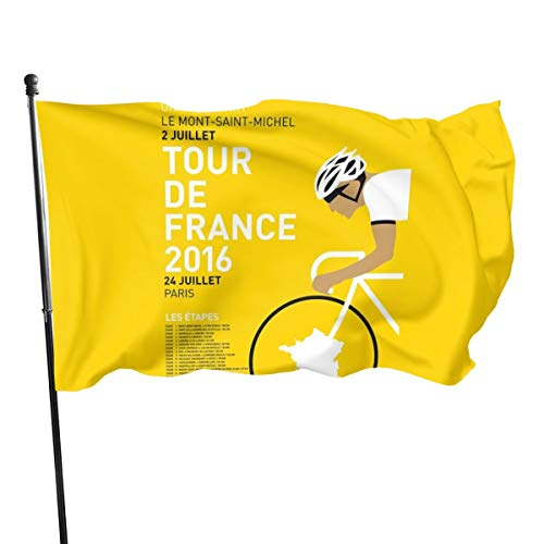 N/ My Tour de France Minimal Poster 2016 Kunstdruck Flagge Bannerflaggen, 91 x 152 cm