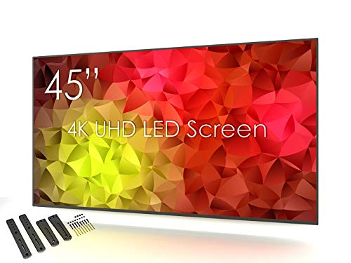 SWEDX SM2-45K1-01-PP1 4K Ultra HD LED-Monitor 114 cm (45 Zoll) mit Wandhalterung (3 HDMI 2.0, VGA, Koax, Component, 2 USB)