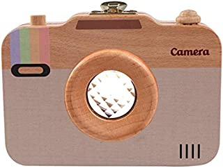 Baby Products Creative Wooden Children Camera Deciduous Tooth Preservation Box Baby Teeth Tooth House Storage Box Baby Pro...