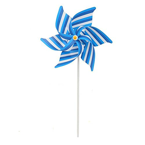 Uteruik Pinwheel Windmolen Decoraties Party Tuin, Wind Wheel Duif Vogel Scarer Deter Mollen, 1 stk, DER#4