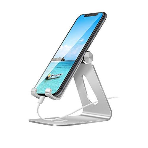 guoda Soporte para Movil-Portamoviles Coche Soporte De Teléfono Móvil Ajustable, Soporte De Base De Teléfono Móvil, Adecuado para IPhone6 / 6S / 6S Plus, iPad De 8 Pulgadas