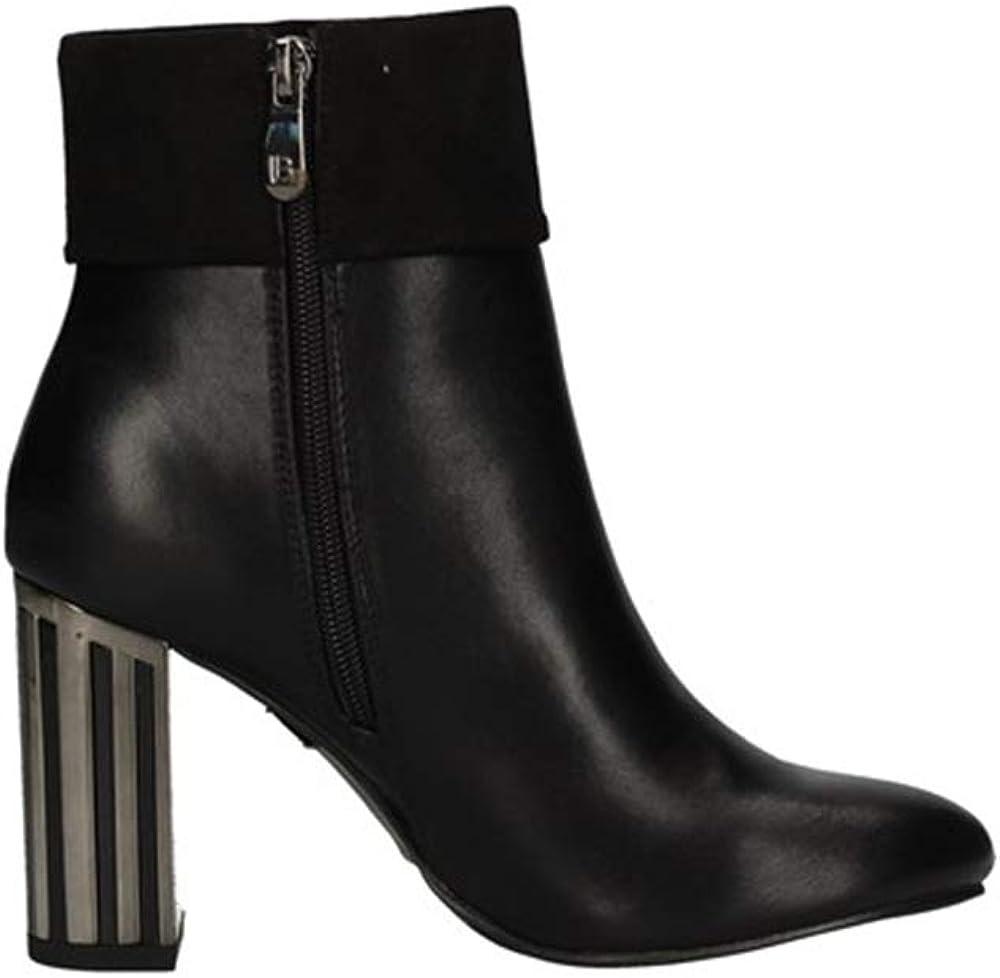 Laura biagiotti ,tronchetti in pelle,scarpe per donna 5747-NERO-35