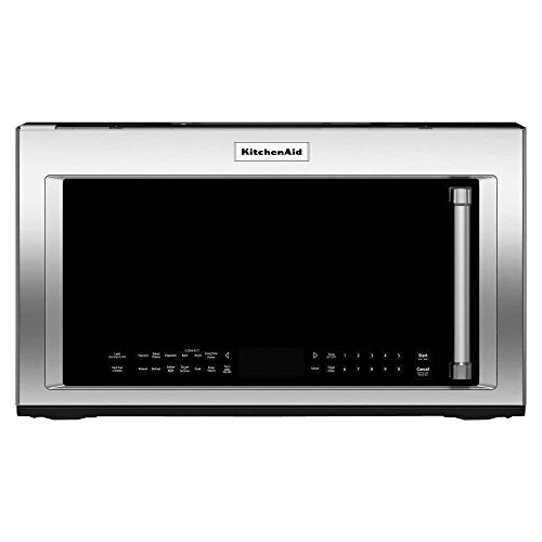 Kitchen Aid KMHC319ESS 1.9 Cu. Ft. 1000W Stainless Over-The-Range Microwave