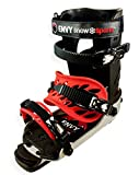 Envy Ski Boot Frame - Comfortable Ski Boots (Black, Large)