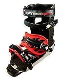 Envy Ski Boot Frame - Comfortable Ski Boots (Black, Medium)
