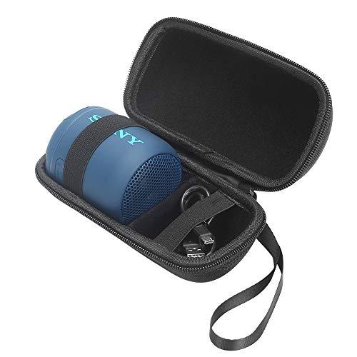 Eva Hart Fall reis dragen opslag tas voor Sony SRS-XB10 draagbare draadloze luidspreker geschikt voor USB-kabel en oplader, voor Sony XB10