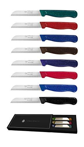 Solingen / 6x / Edelbach / 6er Messer Set made in Germany Allzweckmesser, Obstmesser, Gemüsemesser, Schälmesser, sehr scharf