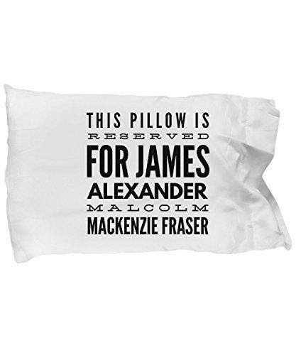 Michell63Bentham Reserved For Jammf Jamie Fraser - Funda de Almohada para los Fans del Exterior