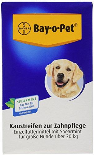 Bay-o-Pet Zahnpflege Kaustreifen mit Spearmint  groß