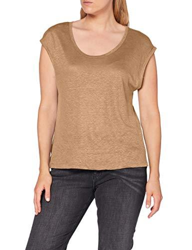 United Colors of Benetton Damen T-Shirt, Tannin 193, M