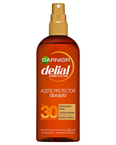 Delial Huile Ambrée Protectrice Spf30 150ml