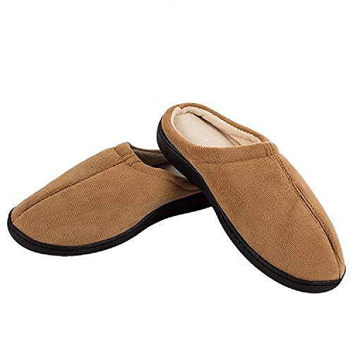 Zapatillas Relax Slippers (Talla L:42-44 - Color: Marron)