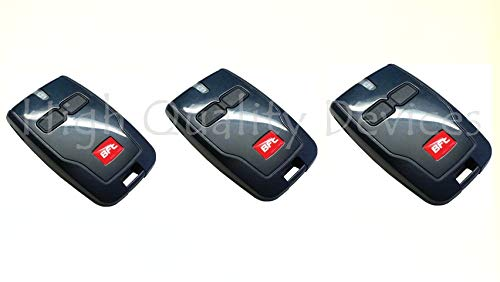 3 Pack BFT Mitto 2 B RCB02 R1 Button D111904 433MHz Remote Control Garage Gate Opener