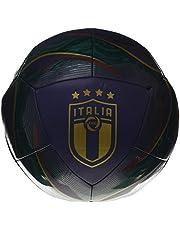 PUMA Unisex – FIGC ICON Ball Voetbal, Ponderosa Pine-Peacoat-Cordovan Team Gold, 5