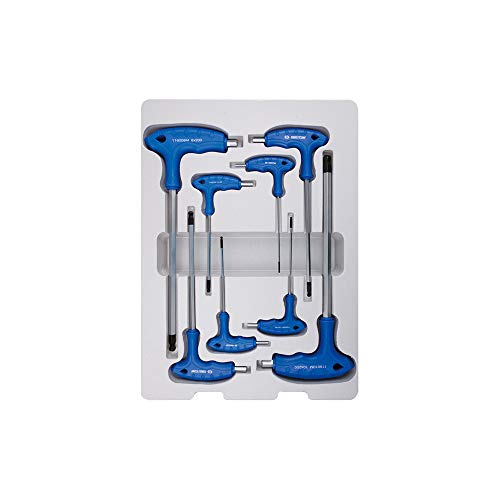King Tony 22108MR - Llave de vaso hexagonalde termoformado de 6 caras...