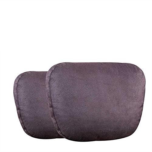 MIOAHD Asiento de Apoyo para el Cuello del reposacabezas del Coche/Maybach Design S Class Soft Universal Ajustable Almohada para el Cuello del Coche Almohada para la Cintura