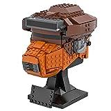 TARS Modelo de casco Boushh, 591 piezas, MOC-60164, compatible con Lego Star Wars 75277 75304
