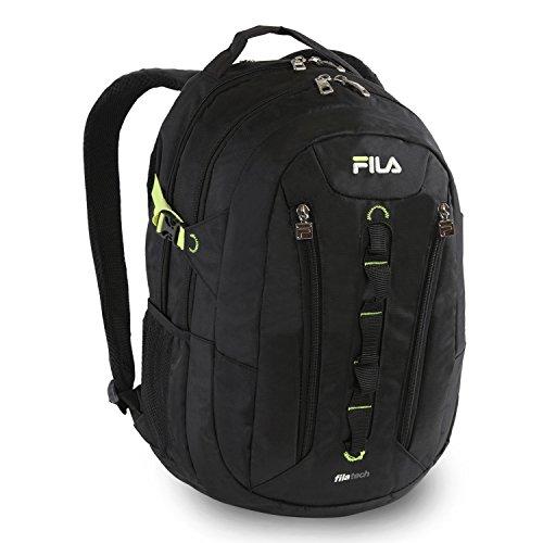 Fila Vertex Tablet und Laptop Rucksack, schwarz (Schwarz) - FL-BP-1145-BK
