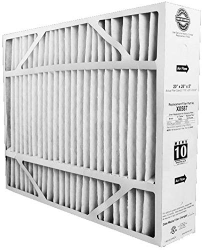 Lennox Genuine OEM Replacement Media Filter X0587 Fits Model BMAC-20CE (PACK OF 3)