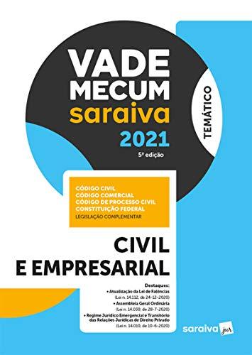 Vade Mecum Civil e Empresarial - 5 ª Edição 2021