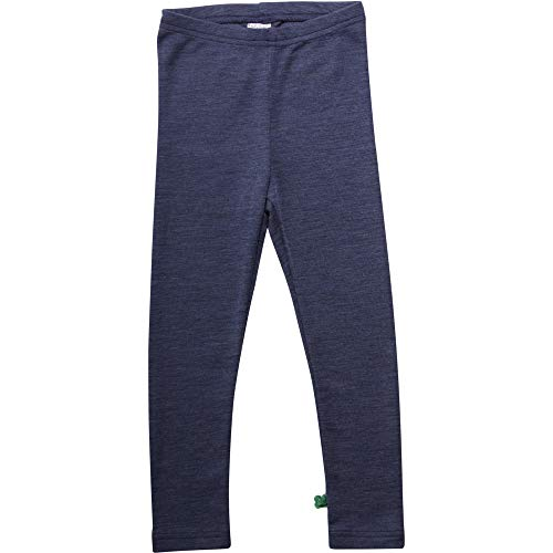Fred'S World By Green Cotton Legging, Bleu (Navy Mélange 207680001), 86 Mixte bébé