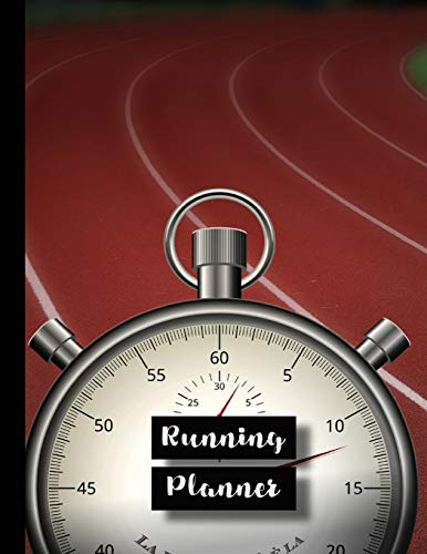 Running Planner: Runner planner diary for all your training logs - Track and stopwatch