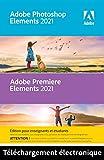 Adobe Photoshop & Premiere Elements 2021 | Student & Teacher Edition | 1 Usuario | PC | Código de activación PC enviado por email