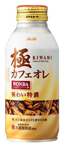 アサヒ飲料 ワンダ 極 カフェオレ ボトル缶 370X24