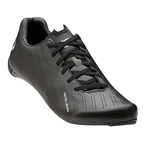 PEARL IZUMI Men's Tour Road Cycling Shoe, Black/Black, 42.5
