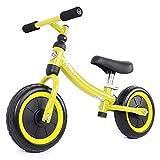 Kiddo Bicicleta ligera para principiantes de 2 a 5 años de edad (amarillo)