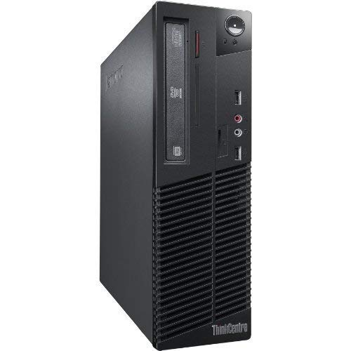 Lenovo ThinkCentre M92p SFF - Ordenador de sobremesa (Intel Core I5-3470 3.2 GHz, 8GB de RAM, Disco HDD 500GB, Lector DVD, Windows 10 Pro) Negro (Reacondicionado)