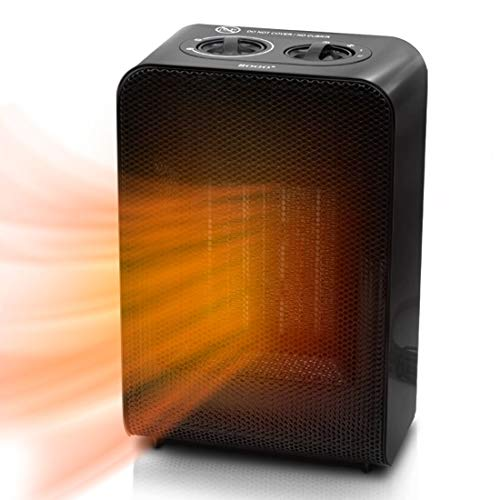 Portable Space Heater - 1500W/750W PTC Electric Ceramic Heater with 3 Adjustable Modes, Over Heating & Tip-Over Safety Protection for Home, Office, Bedroom, Desk, Small Room, Indoor Use