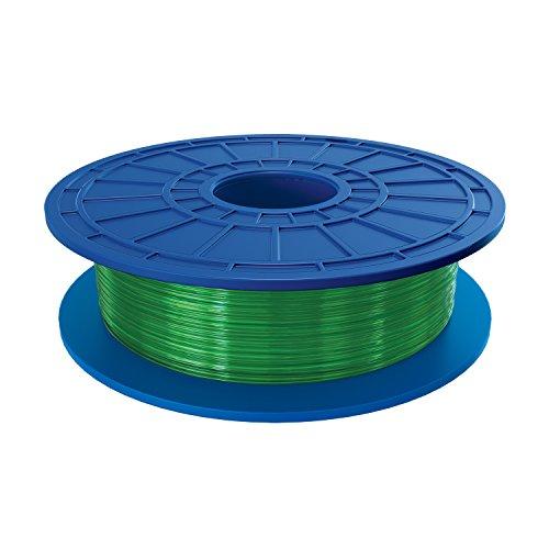 Dremel DF07-01 PLA 3D Printer Filament, 1.75 mm Diameter, 0.5 kg Spool Weight, Green