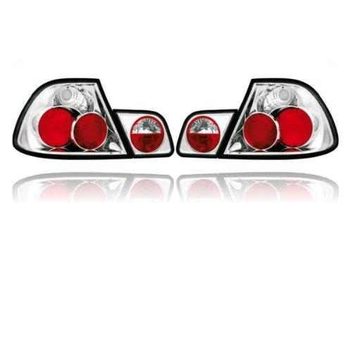 Akhan RB03 - achterlichten set crystal achterlicht geschikt voor BMW E46 Coupé bj: 99-03