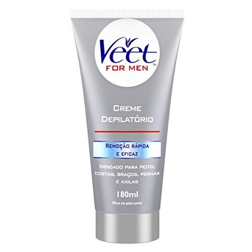 Creme Depilatório Corporal Veet For Men - 180ml, Veet, 180ml