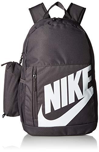 NIKE Youth Elemental Backpack - Fall'19, Thunder Grey/Thunder Grey/White, Misc