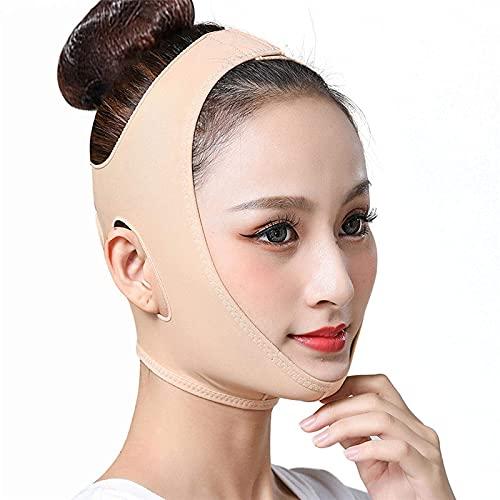 Correa De Adelgazamiento Facial Cinturón De Elevación Facial Máscara De Cuello Fino Dormir Lifting Facial Reducir El Vendaje De La Barbilla Doble Cinturón para El Cuidado De La Piel Nudexxl