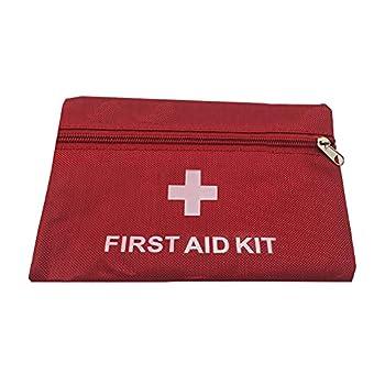TAKE FANS Trousse de premiers secours portable pour camping, voyage, urgence médicale, bureau, maison, voiture, école, urgence, survie, camping, chasse et sport