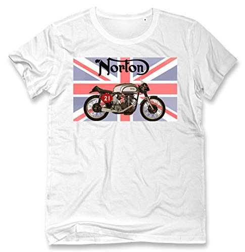 PC Hardware Store Norton Bike Camiseta para Hombre