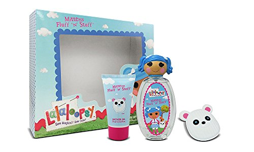 Lalaloopsy Mittens Fluff 'N' Stuff Cute Coffret: Eau De Toilette Spray 100ml + Shower Gel 75ml + French Barrette 3pcs