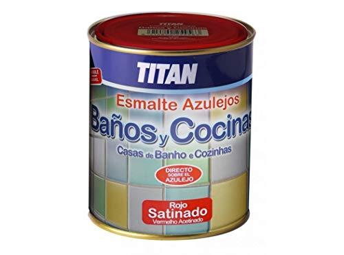 Titan. - Esmalte Azulejos Baño Y Cocina 750 Ml