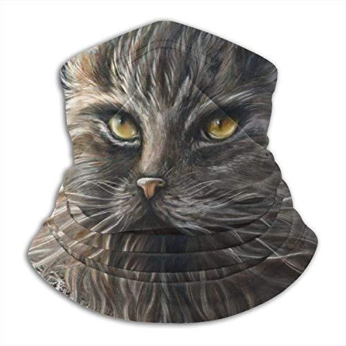 power1 Katzen Schädel Historische Figuren Hals Gamasche Halswärmer Gesichtsmaske Sonnenschutz Sturmhaube Stirnband Für Männer Frauen Gesichtsschutz Zum Angeln Wandern Kajak Maske